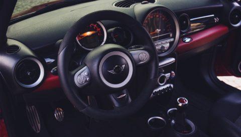Indvendig bil rengøring mark